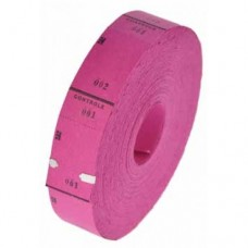 Ticketrol fuchsia-roze 30x65mm 1000st Td35990036